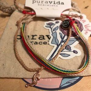 Pura Vida Two Bracelets